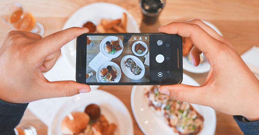 Instagram foto restaurant
