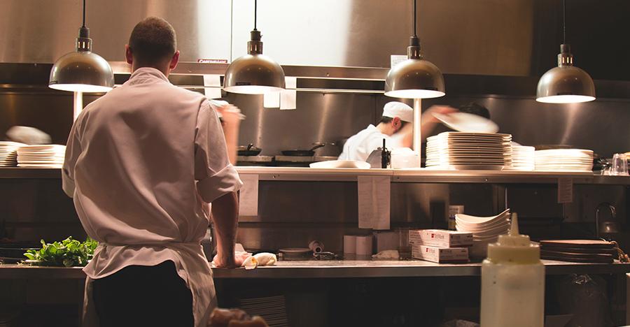Keukenpersoneel restaurant