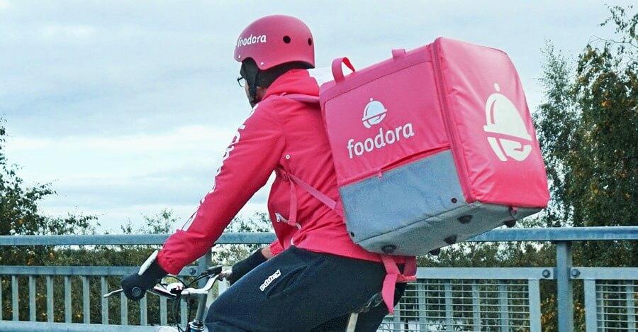 Foodora Meal deliverer