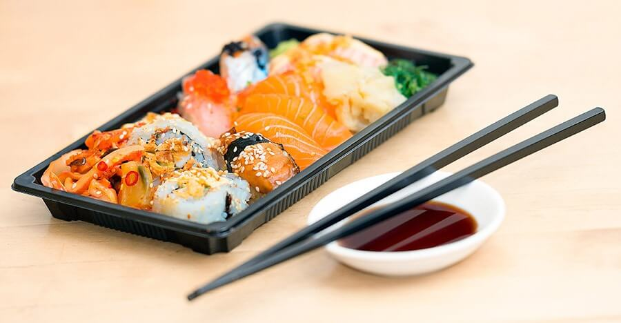 Sushi Meal delivery