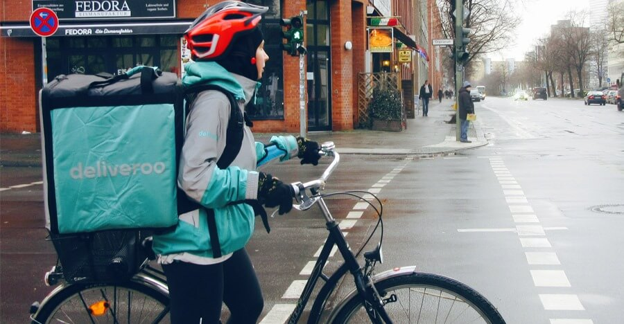 Deliveroo meal delivery