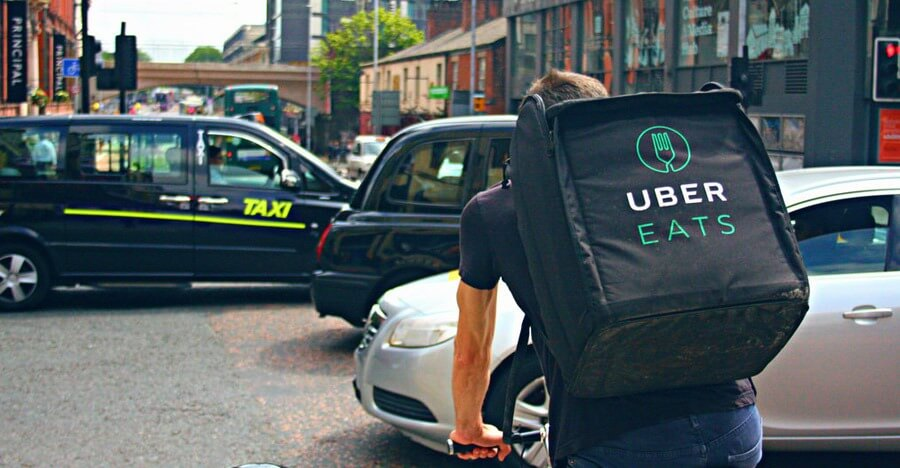 UberEats meal delivery