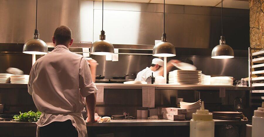 efficient werken restaurant